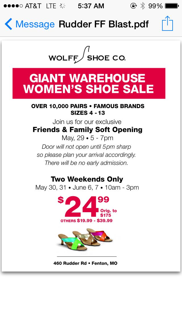 It's almost free  May 30 & 31  Massive shoe sale  Marmi shoe