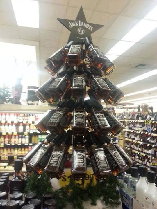 Árvore de natal - Jack Daniel's