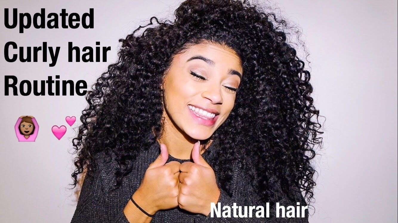 Updated Curly Hair Routine Natural Hair Jasmeannnn With Images