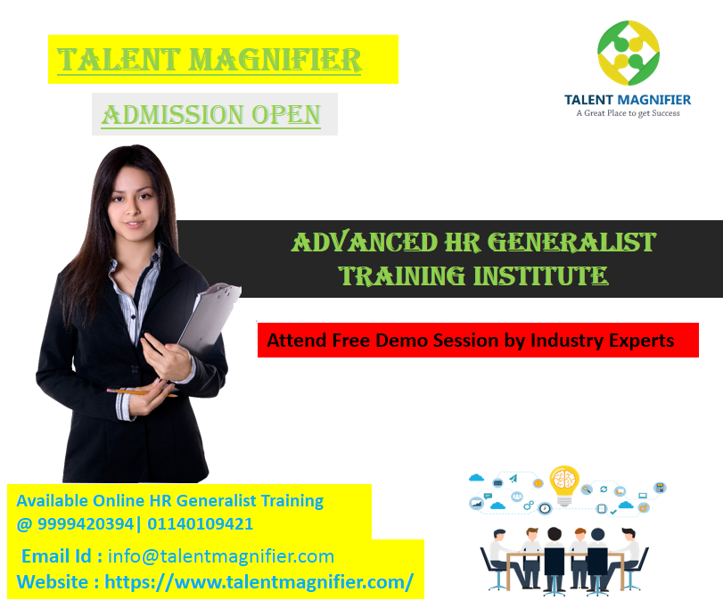 attend talent magnifier's job oriented and best short term online ...