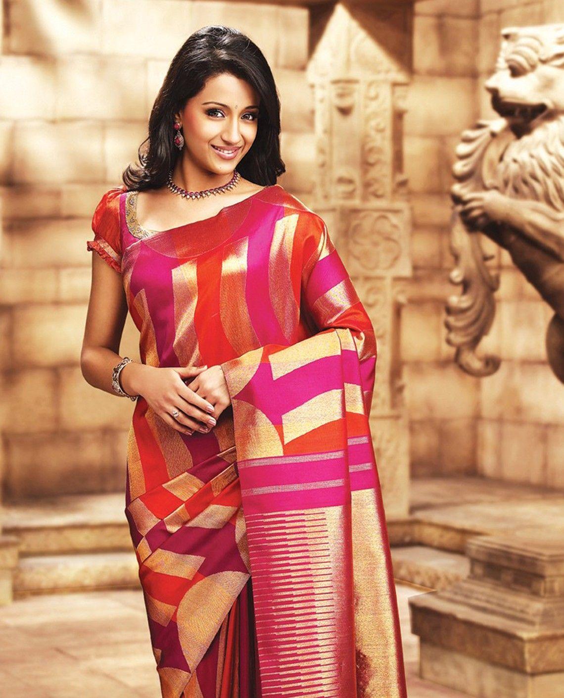 126e619fda Trisha004 - Samudrika Pattu - Pure Silk Sarees | Fashion-1 | Saree ...