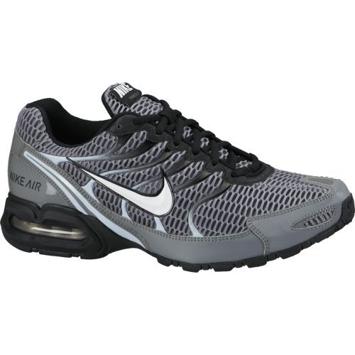 Nike Men S Air Max Torch 4 Running Shoes Obsidian White Wolf Grey Dark Size 15 At Academy Sports