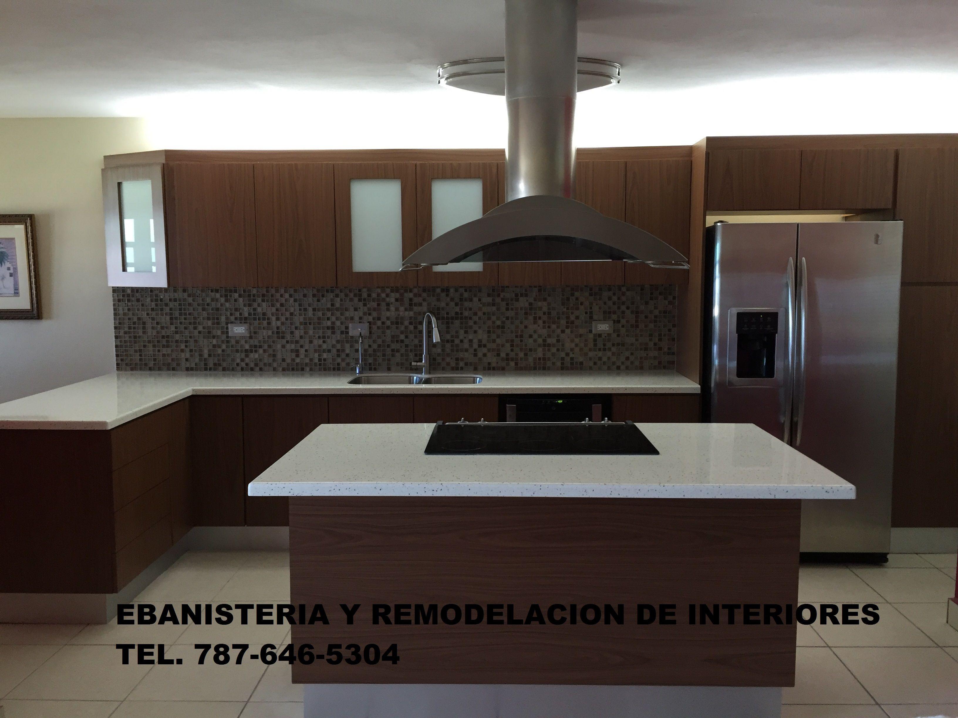 Contratista registrado daco gabinetes de cocina y ba os a for Remodelacion de cocinas pequenas