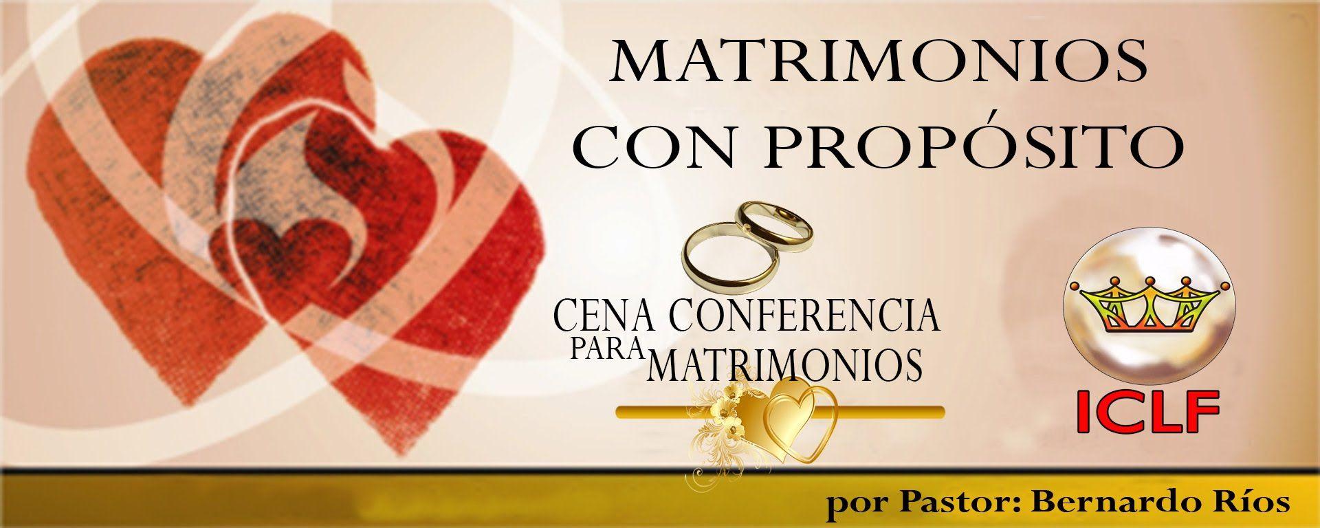 Dinamicas Y Conferencias De Matrimonios