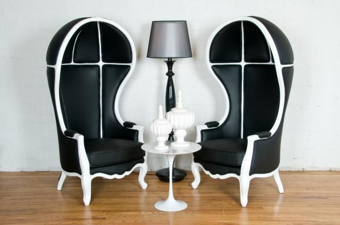 These Chairs Were On Rules Of Engagement Not Exact But The Same Style