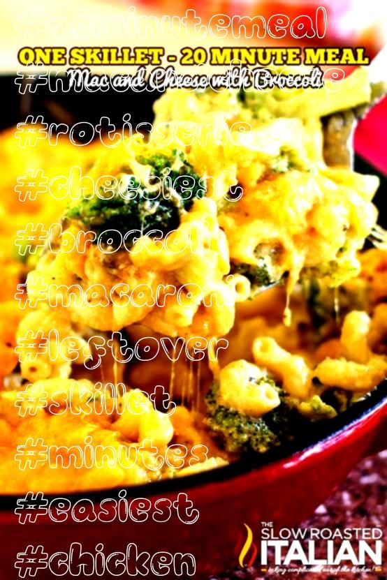 Lovers Mac and Cheese with Broccoli Cheese Lovers Mac and Cheese with Broccoli is the easiest and cheesiest macaroni and cheese ever Toss in rotisserie or leftover chicke...