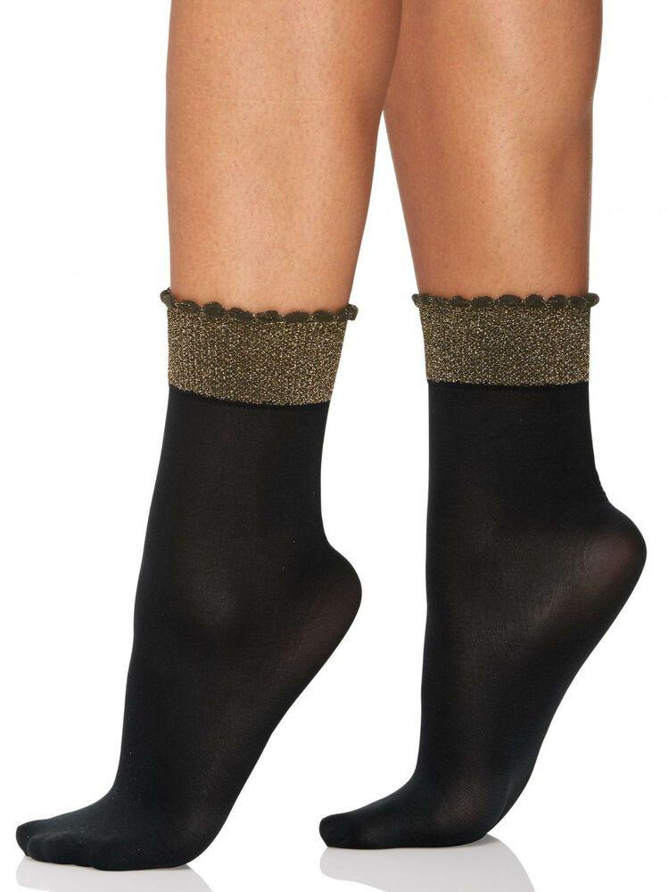 03fe42d55 Berkshire Women s Plus Size Glittery Cuff Opaque Anklet Socks  fashion   clothing  shoes  accessories  womensclothing  hosierysocks (ebay link)