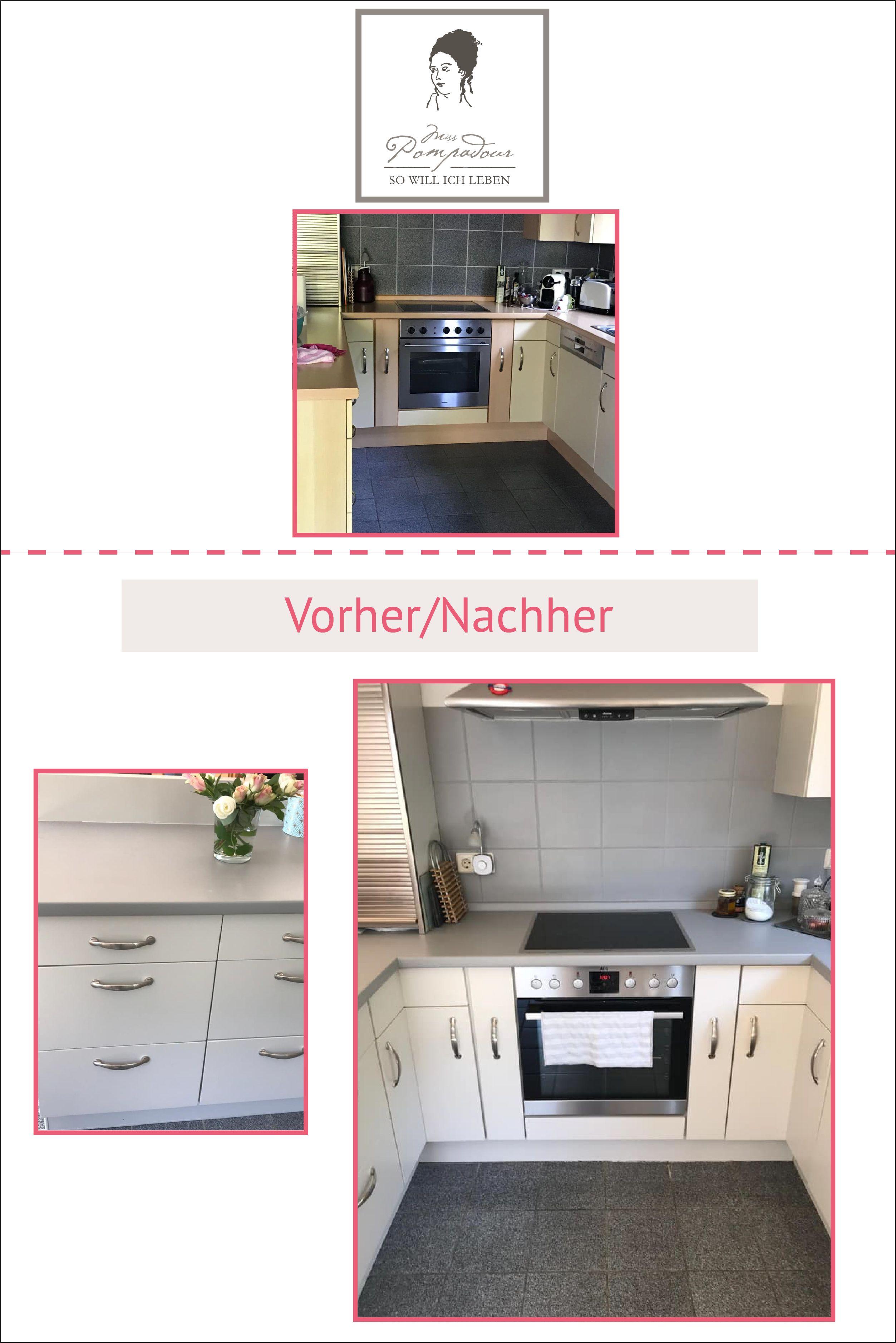 Küche streichen mit Kreidefarbe und Kreidelacken - MissPompadour