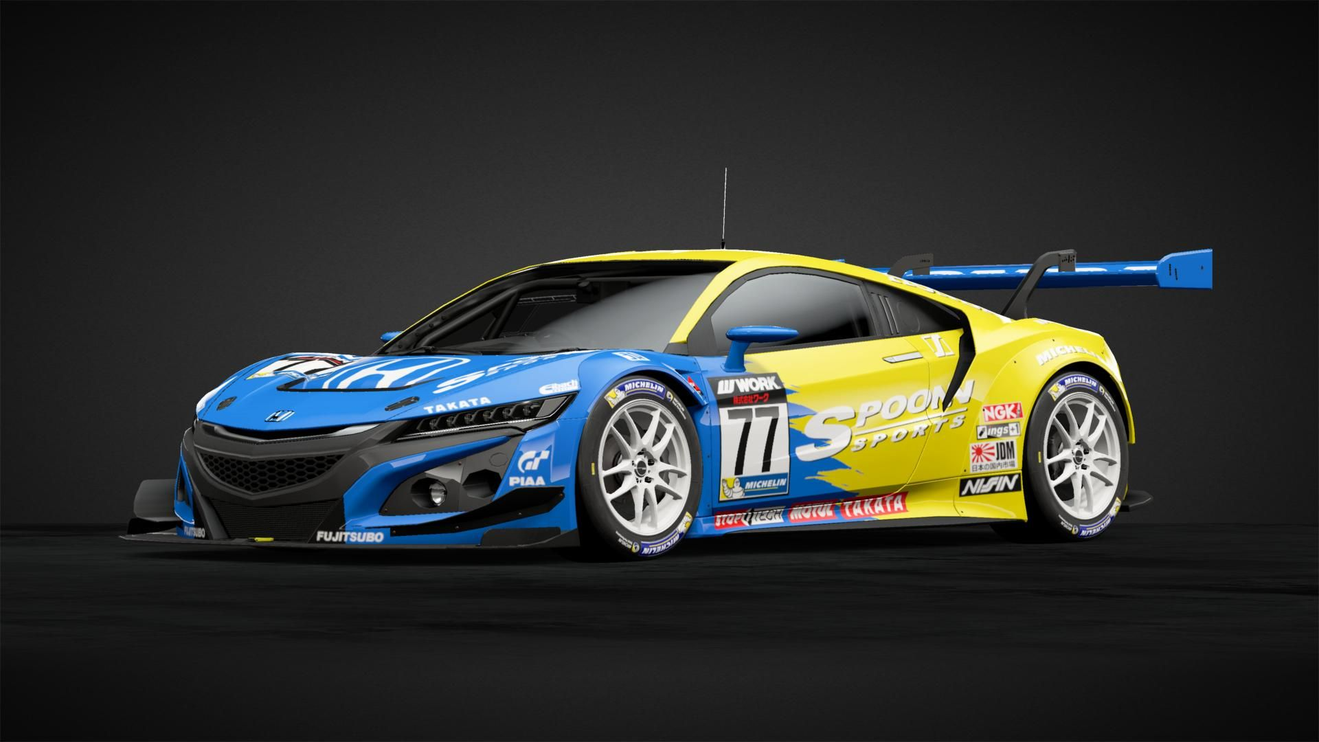 Spoon Nsx Gr 3 77 Car Livery By Eckosystem1084 Community Gran Turismo Sport Nsx Japan Cars Car