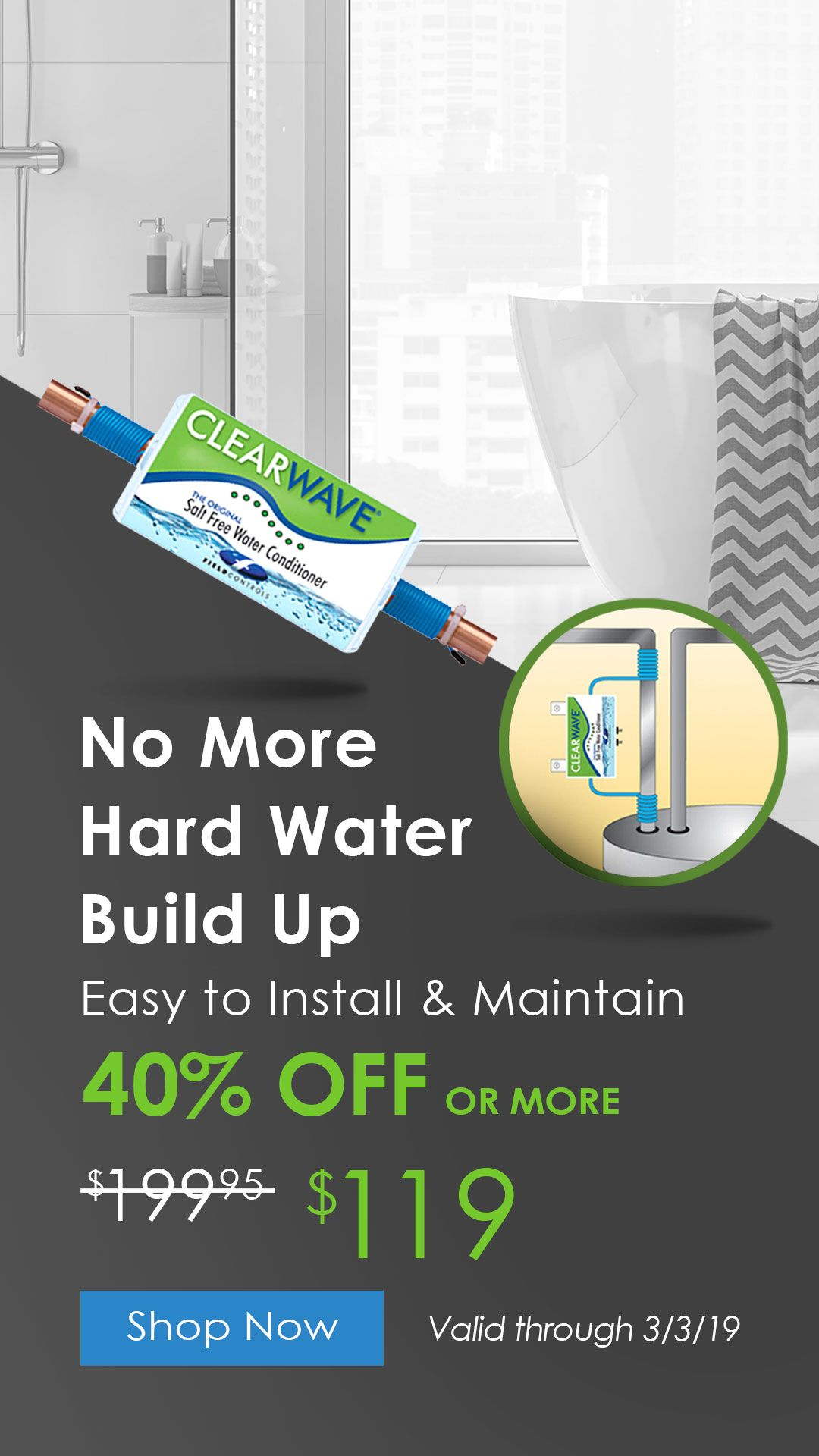 40 Off Say Goodbye To Hard Water Smart Home Home Automation Whole Home Audio