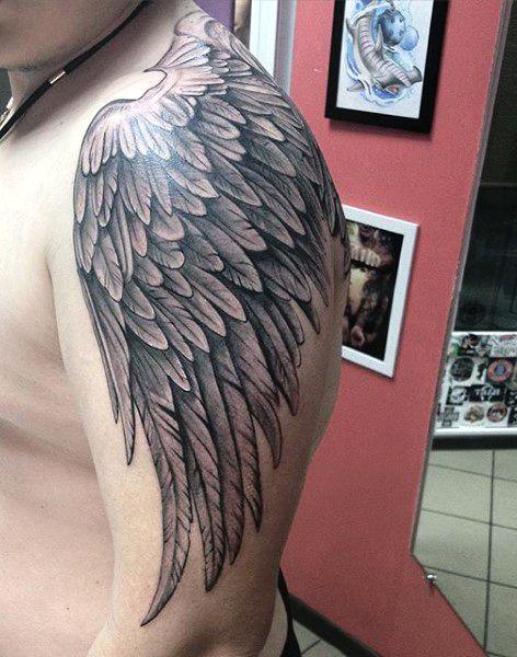 101 Best Angel Tattoos For Men: Cool Design Ideas (2021 Guide)
