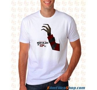 Camiseta Pesadilla en Elm Street