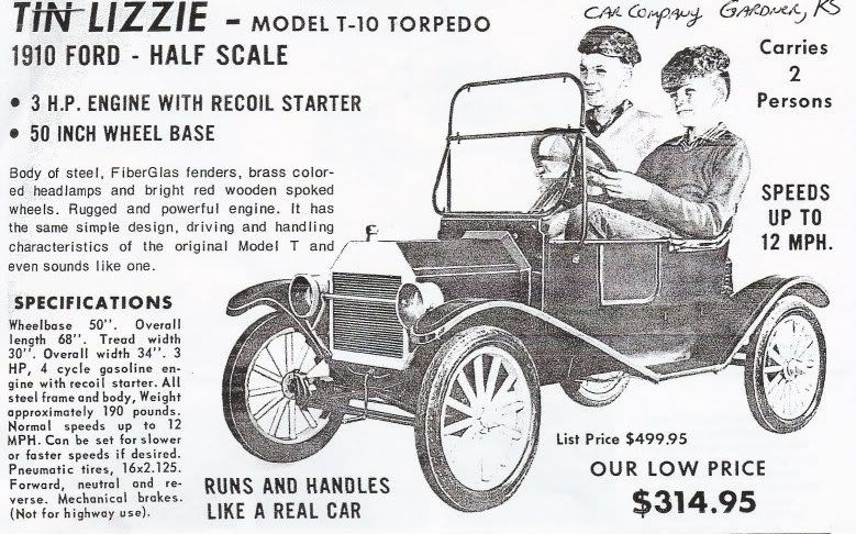 Mcdonough Power Equipment Tin Lizzies Forums Tin Lizzie American Classic Kei Car