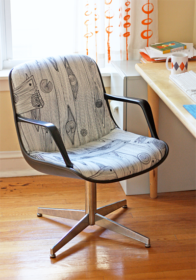 reupholster an office chair. Sometimes I Like To Pretend That Do Things Recover Old Chairs. One Day. Office Chair MakeoverChair ReupholsteryUpholster Reupholster An L