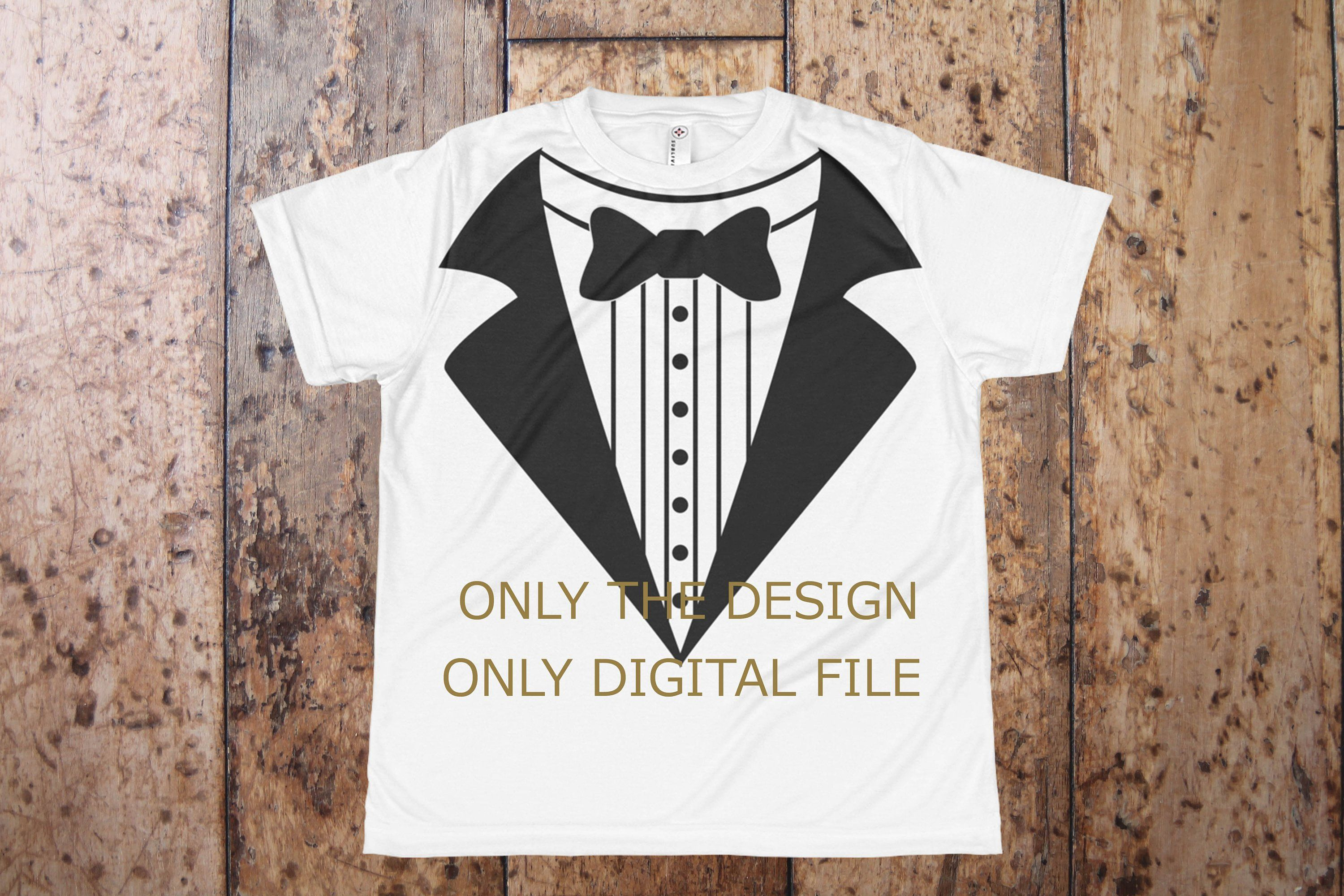 5587e76f25c0 Tuxedo T Shirt Design Download Commercial Use OK Wedding Tuxedo for Kids  Event Security Shirt Party Security by MarisCuteBunny on Etsy