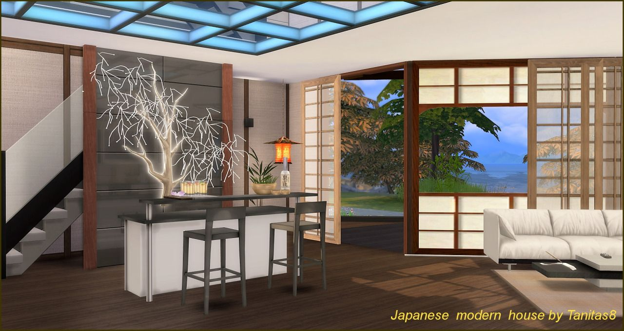TanitasSims - Japanese modern house.