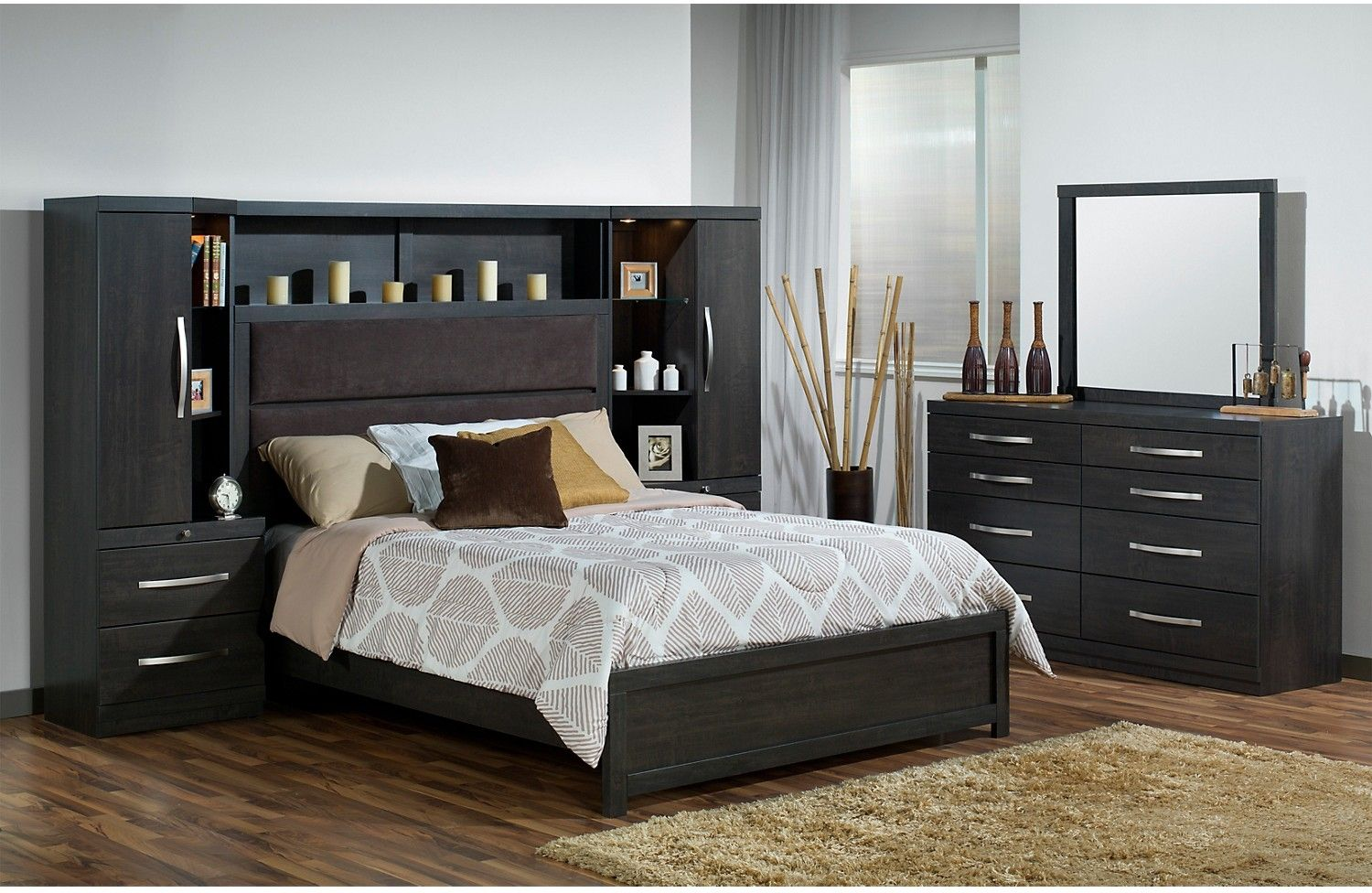 Willowdale King 5-Piece Pier Bedroom Package | Bedrooms, Bricks and ...