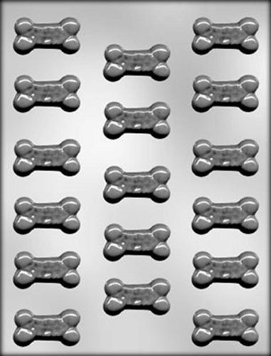 Small Dog Treats #3 Chocolate Candy Mold Bone Biscuit Soap