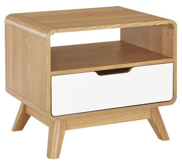 Retro Lamp Bedside Table Fantastic Furniture 169 Inside the