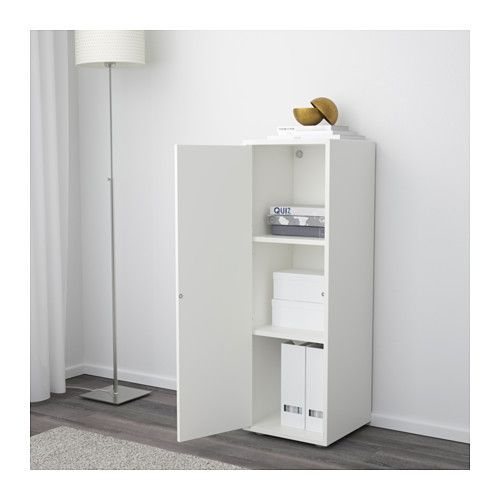 Captivating EKET Cabinet With Door And 2 Shelves, White