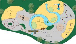 plattegrond van een speeltuin - Google zoeken