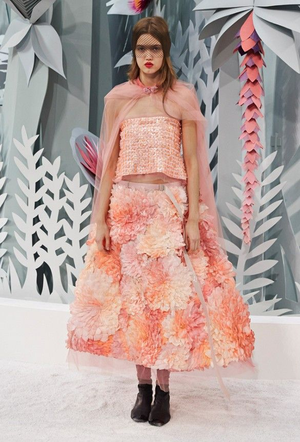 2192149df48 Every Single Look from the Chanel Couture Show (All 72 of Them) via   WhoWhatWear