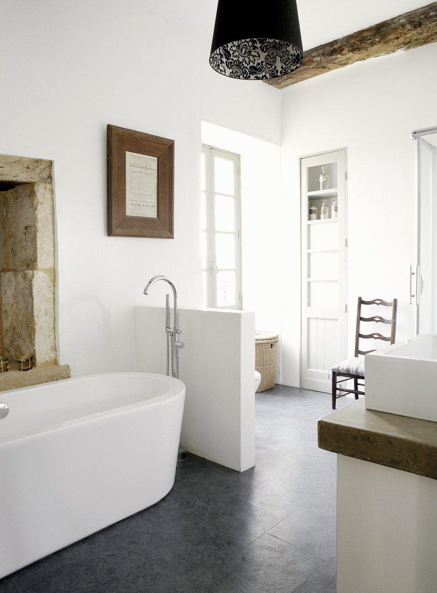 White bathroom interior design modern farmhouse bathroom  home  pinterest  rustic bathrooms