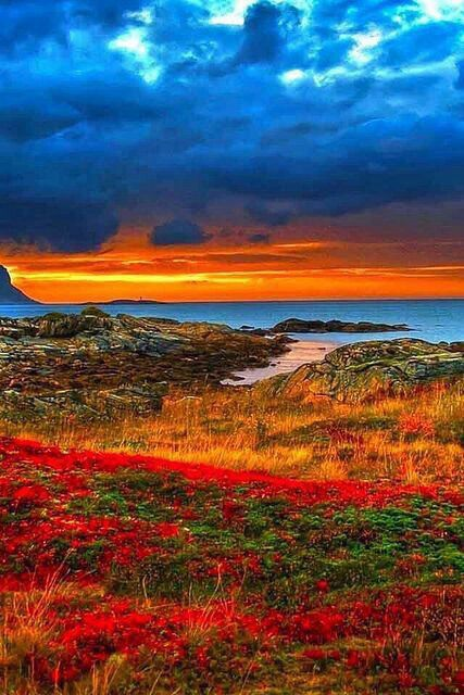 Spectacularly Saturated Color Landscape Nature 400 x 300