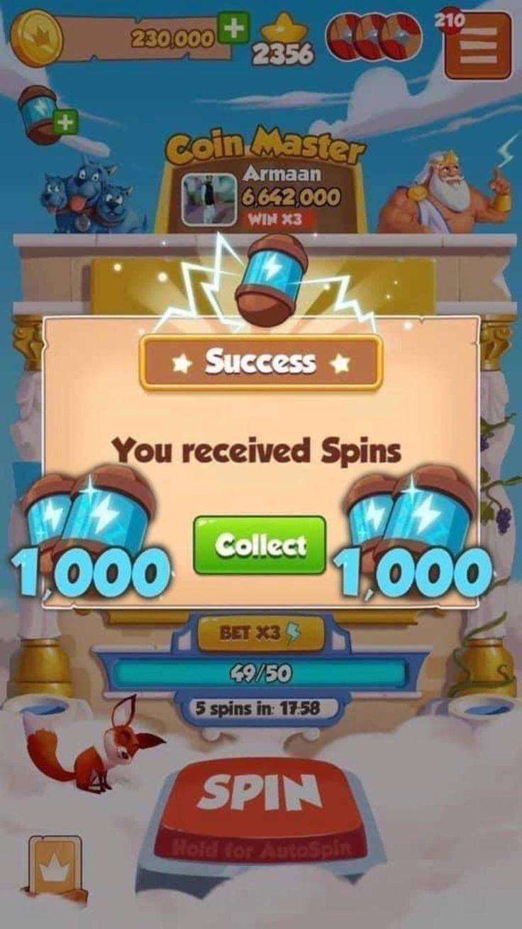 Épinglé sur coin master free coins and spins