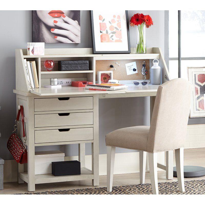 Highland Dunes Lesli Secretary Desk | Wayfair