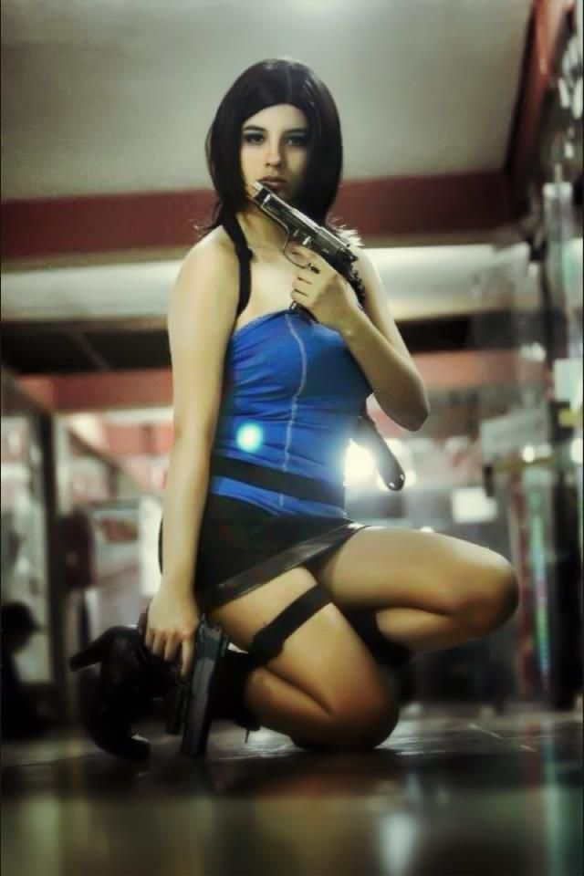 Jill Valentine Cosplay Kuroyukihime Accel World Killer Cosplay