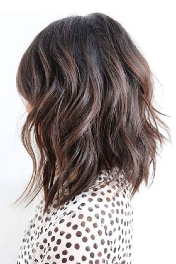 Sexy shoulder length hair