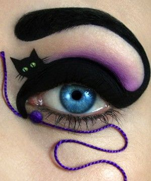 Meow! This Is Just Literally A Cat Eye
