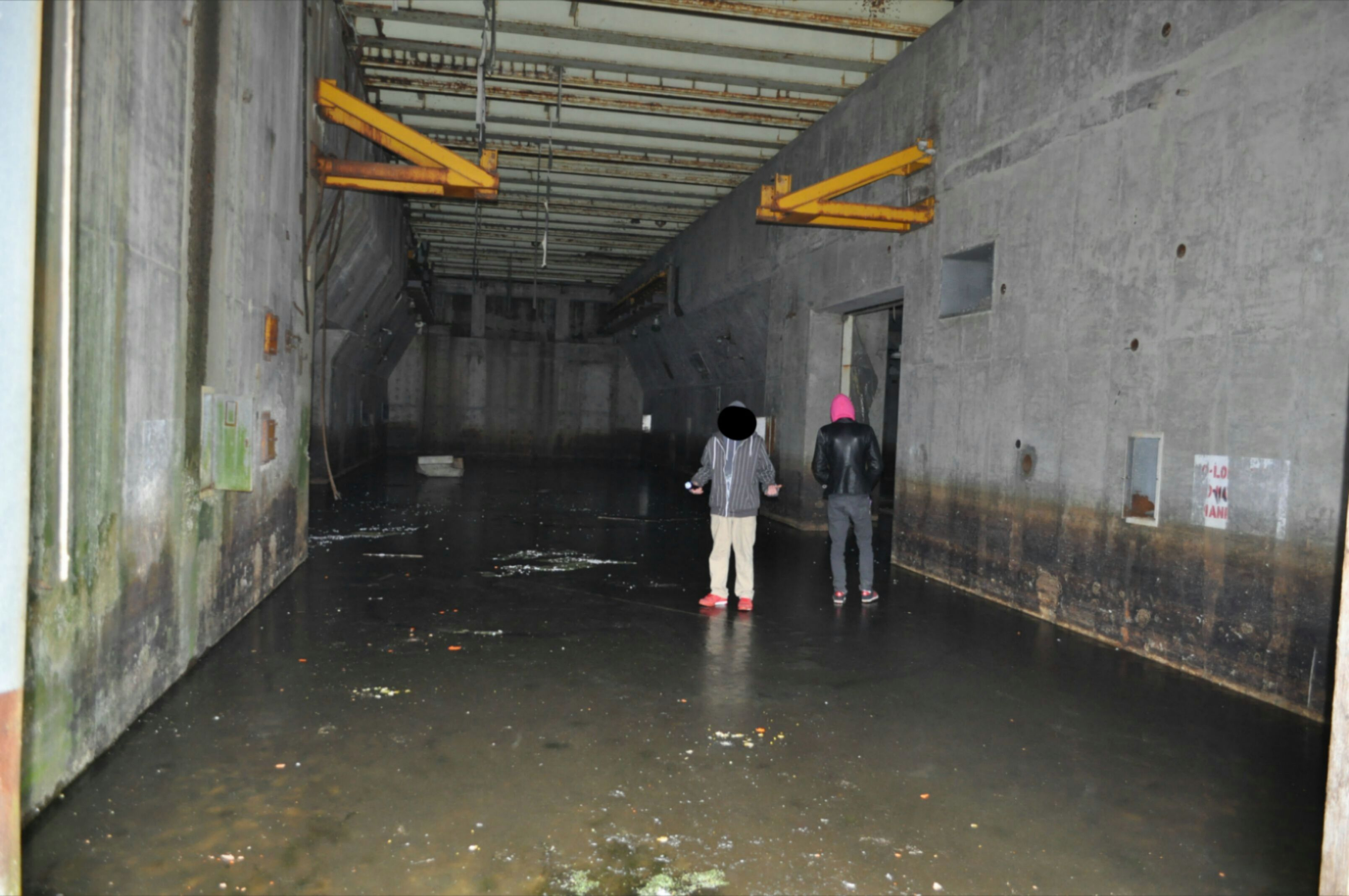 Nuclear Missile Silo For Sale My Buddies On Ice Inside A Flooded Atlas E Missile Base In Rural