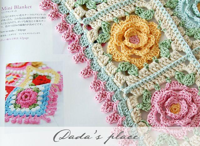 Pin von Isaura Lavos auf Crochet | Pinterest | Häkeln, Häkeldecke ...