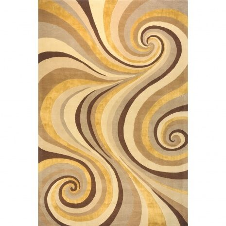 Yellow And Brown Area Rugs