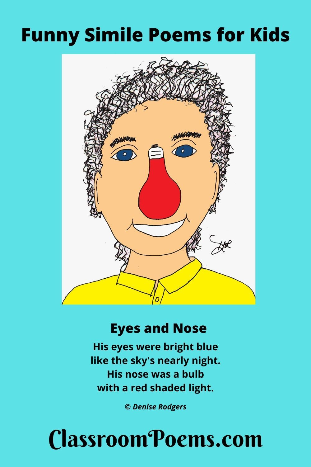 Funny Simile Poems in 2020 | Simile poems, Poetry for kids