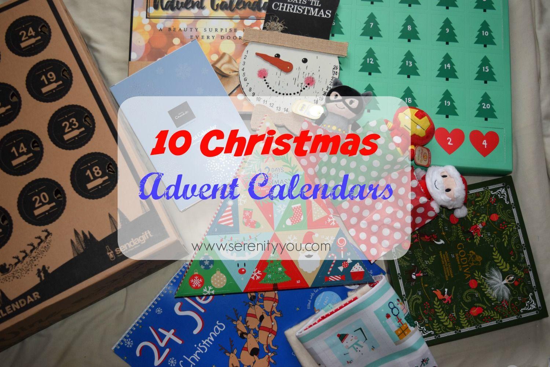 10 Fab Christmas Advent Calendars! - Serenity You #wineadventcalendardiy