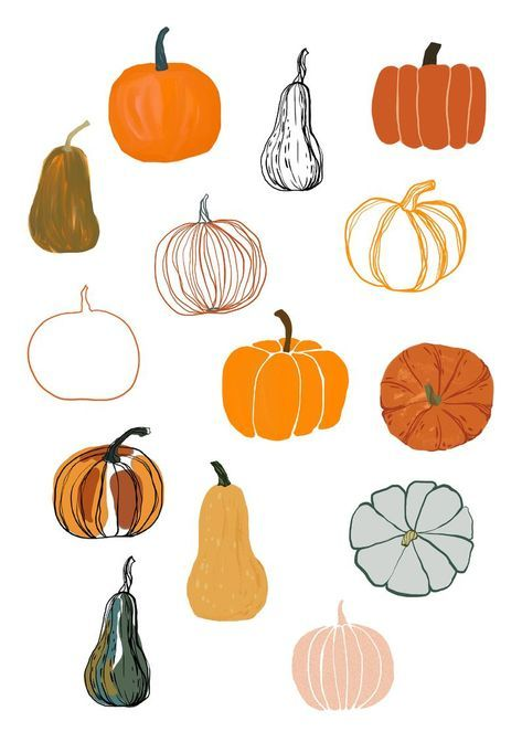 Fall clipart with pumpkin Pumpkin fall clipart Aut