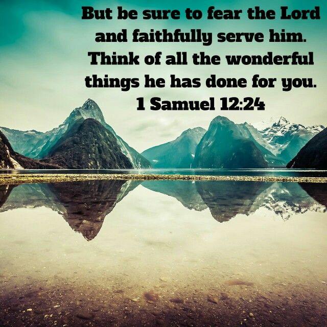 Remember God's goodness!