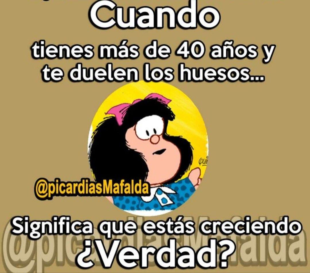 Esos 40 Mafaldaadooroo Frases Bonitas Frases E