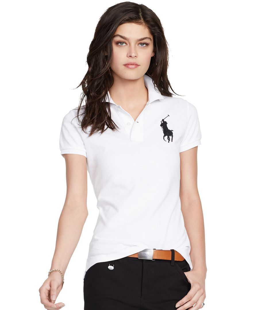 Polo Ralph Lauren Slim-Fit Big-Pony Polo Shirt   Products   Ralph ... f432c77404b