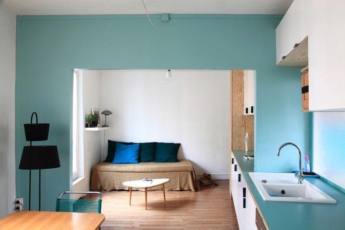 Architecte d 39 int rieur paris claire escalon et nicolas - Architecte interieur paris petite surface ...
