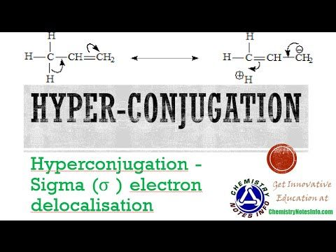 What is Hyperconjugation ~ Chemistry Notes Info - Innovative Online