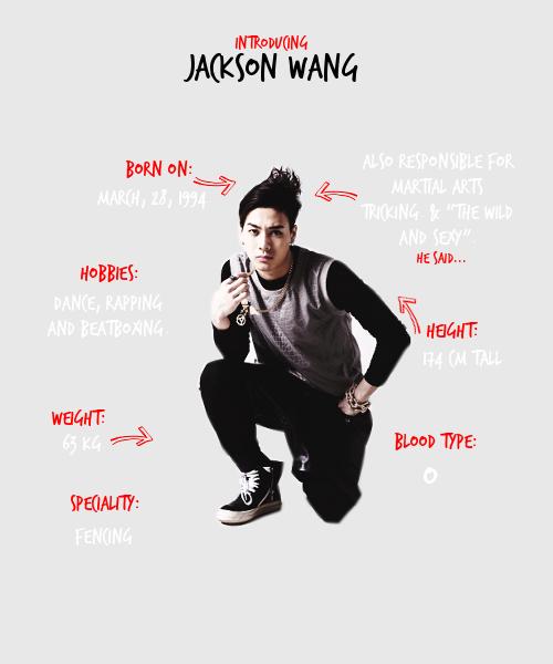 Got7 Jackson Profile   ♡ GOT7 ♡   Got7, Got7 jackson, Jackson wang