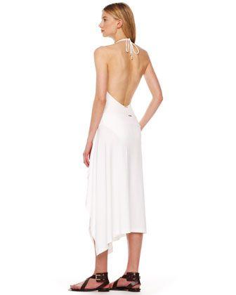 Michael Kors Draped Coverup Skirt