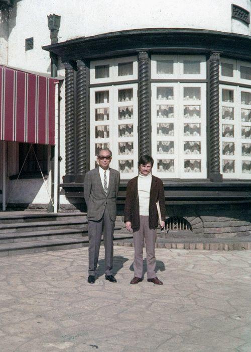 Akira Kurosawa and Andrei Tarkovsky.