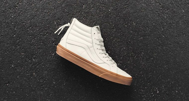 Vans Sk8-Hi Reissue Zip White/Gum
