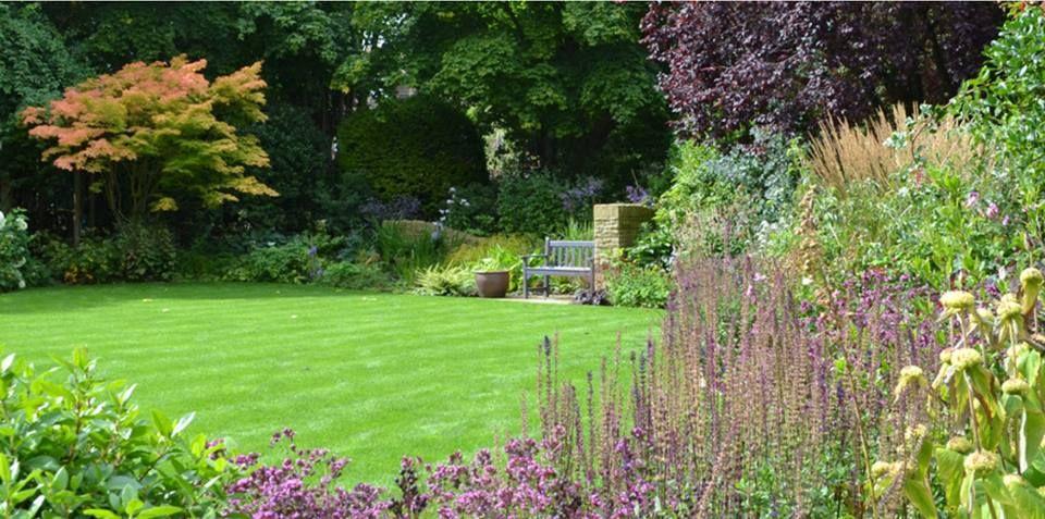 Informal Garden Location Harrogate North Yorkshire Uk Designer Lizzie Tulip Garden Design Based In Acomb York Yorkshire Tulip Design