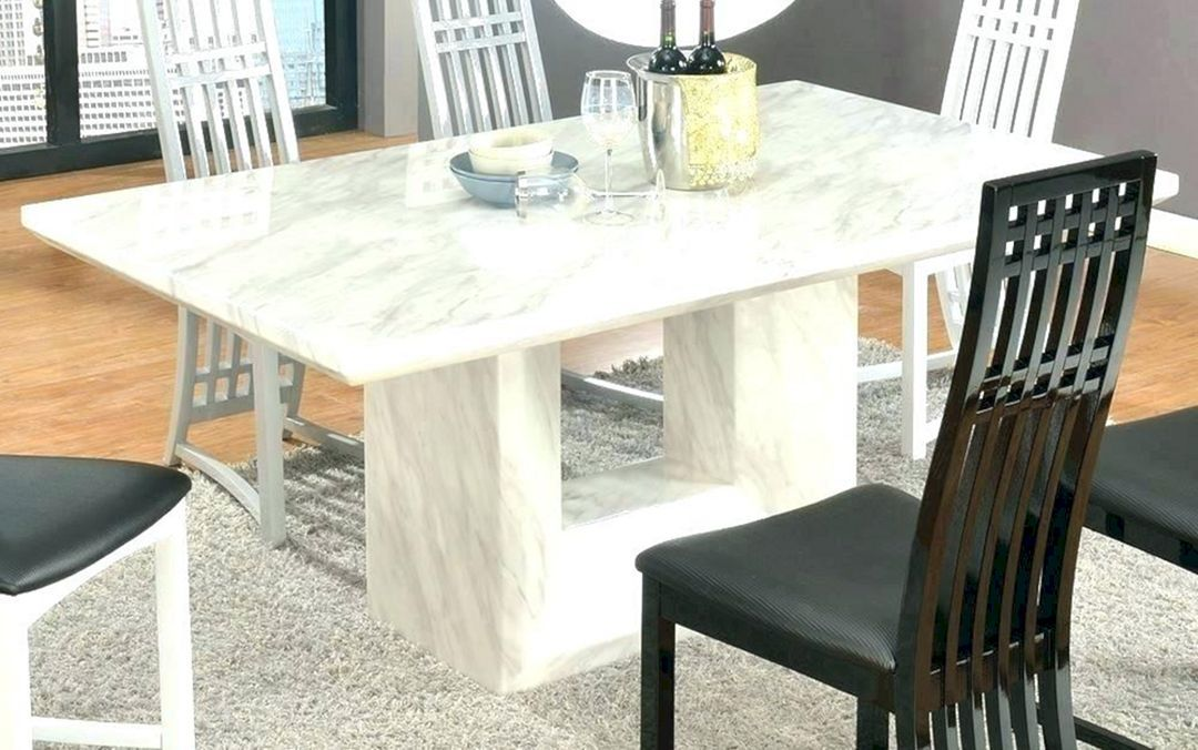 Best Durable Marble Kitchen Table You Must To Try Freshouz Com Dining Table Marble Marble Top Dining Table Granite Dining Table